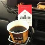 14045901 - ホットコーヒーとモリス社♪