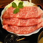 十二段家 - 黒毛和牛サーロインのお肉