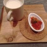 カフェ ザ ベイ - スープ+小鉢