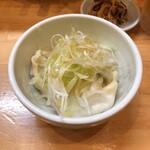 ラーメン ソレナリ - 水餃子