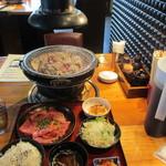 焼肉OGAWA - テーブル上の様子