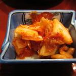 焼肉OGAWA - キムチアップ