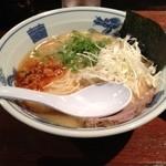 極太野菜味噌 ○助 - 味噌ラーメン(750円)