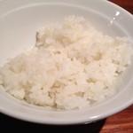 極太野菜味噌 ○助 - サービスという半ライス、以前のボリュームへの帳尻合わせ?
