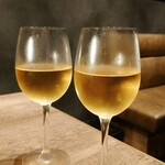 焼肉てっちゃん - 白ワイン