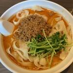 味覚 - 坦々刀削麺(¥850円)