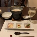 Nozomi - 豆乳鍋とオードブル