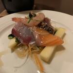 Nozomi - お刺身サラダ