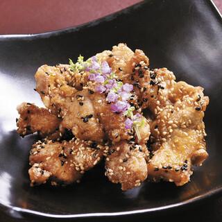 麦風鶏の唐揚げ香り醤油