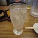 手仕込み麺屋 すずなみ - 定番レモンハイ 290円