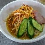 麺棒栄来パート2 - 料理写真:辛口冷やしネギラーメン