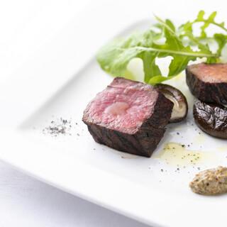 本来の肉の旨味を味わえる「淡路牛」