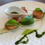 カフェレストラン オリビエ - 夏の美食ランチ(おかやま黒豚フィレ肉のミラノ風カツレツ)