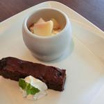 カフェレストラン オリビエ - 夏の美食ランチ(デザート)