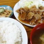 万福食堂 - 焼肉定食