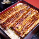 うなぎの店 東條 - 料理写真:うな重上 2500円