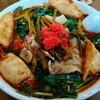 さかえや - 料理写真:満州ニラ餃子ラーメン味噌大盛り