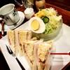 珈琲屋 松尾 - 料理写真:サンドイッチセット1/2サイズです。十分なボリューム★
