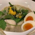 麺屋M - 料理写真:ニギスそば(メルマガアジタマTP)