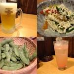 升馬 - 料理写真:ここは、、、何てもビールがウマイ♪