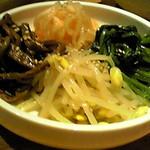 韓国郷土料理 ととり - ナムル