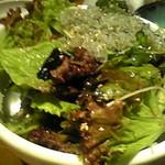 韓国郷土料理 ととり - じゃこサラダ