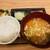 トンカツ X - 料理写真:ご飯 豚汁