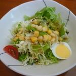 カフェ ヒマラヤ - サラダ
