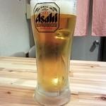 いろり - 生ビール