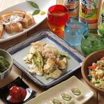オーガニックキッチンFarve - 人気メニュー勢揃いのコース料理がおすすめです。