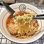 81番 - 三河屋製麺製の手揉み麺