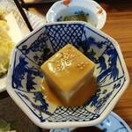 くつかけダイニング - 胡麻豆腐