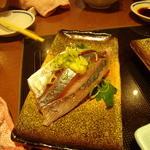 魚河岸料理 うおぎん - びっくりアジ 157円(二貫)