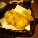 魚河岸料理 うおぎん - タコの天ぷら 504円