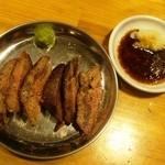 立呑み処 串豚 - 牛さがりステーキ 480円也