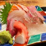 魚正宗 - 全体的にまったり。 新鮮 < 熟成 といった感じです。美味い!