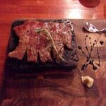 ジャパネスク - 和牛の溶岩焼き