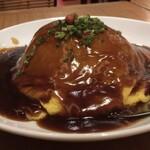 上海スパイス - 黒酢天津飯横から