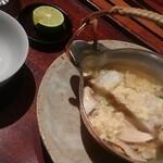 140519609 - 松茸と鱧のお吸い物