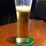 オステリア ヨシ - 生ビール