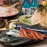 食彩や魚太郎 - 料理の一例