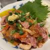 かみ風船 - 料理写真:地鶏のタタキ