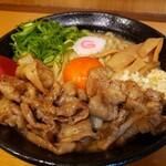 肉玉そば おとど - 元祖肉玉そば (大盛り、税込1,000円)