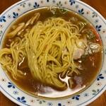 中華そば 一力 - 麺