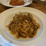 ピッツェリア トレパッソ - 阿蘇あか牛のボロネーゼのフェットチーネ