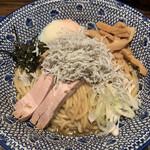 東京煮干屋本舗 - 【2020.10.10】魚介神油そば1000円 ニボ増し。