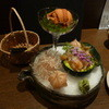 温庵 - 料理写真:生うに&本つぶ貝