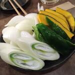 北海道ジンギスカン MASAJIN  - 野菜盛り