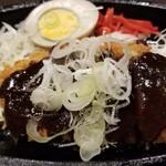 花しずく - 味噌カツハーフ(550円)