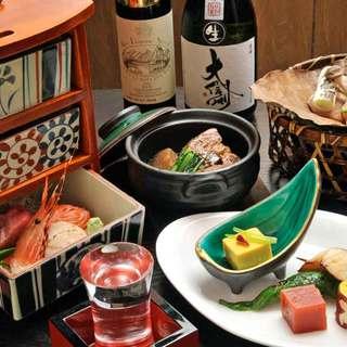 懐石料理が楽しめる宴会料理がおすすめ。